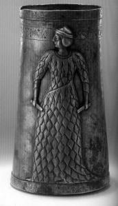 Old Elamite Statue