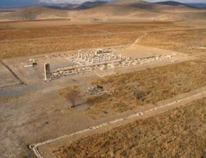 View of a part of Pasargadae