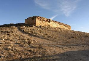 Tol-e Takht, the old citadel of Pasargadae